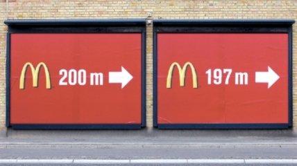 """Креативные идеи """"двойной"""" рекламы (Фото)"""