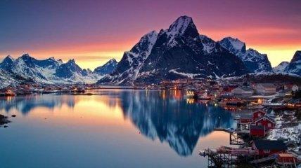 Красота и великолепие Норвегии (Фото)