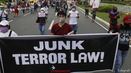 Новый антитеррористический закон: Amnesty International призывает ООН начать расследование из-за ситуации на Филиппинах