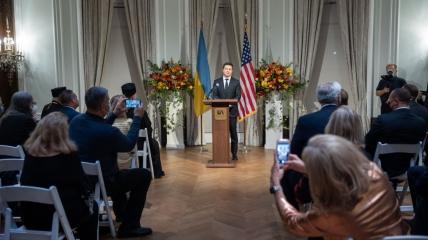 Зеленский встретился с украинской диаспорой в США