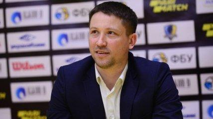 Украинский тренер обиделся и выдал самую короткую пресс-конференцию (видео)