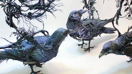Уникальные и сказочные глиняные скульптуры (Фото)