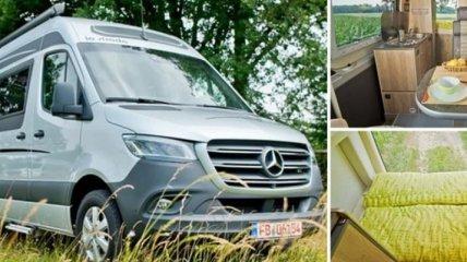 Немецкие мастера превратили Mercedes-Benz в прекрасный дом на колесах (Фото)