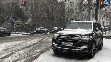 Арахамия поплатился за неправильную парковку в центре Киева (фото)