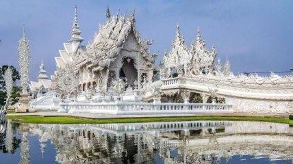 Ват Ронг Кхун – Белый храм Таиланда (Фото)
