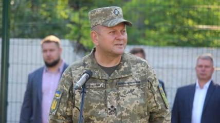 Головнокомандувач ЗСУ Валерій Залужний