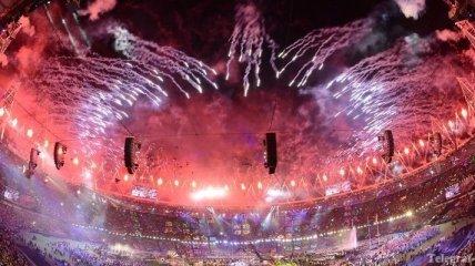 Последние кадры Паралимпиады-2012