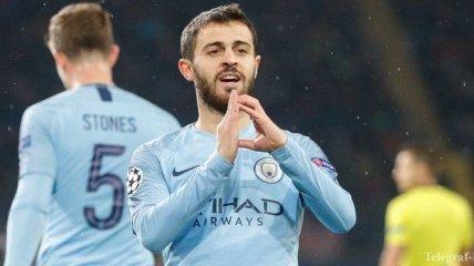 Манчестер Сити планирует вдвое увеличить зарплату Бернарду Силве
