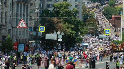 Хресний хід УПЦ МП паралізував Київ: ексклюзивний фоторепортаж