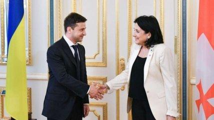 Зеленский рассказал президенту Грузии о главных вызовах для Украины