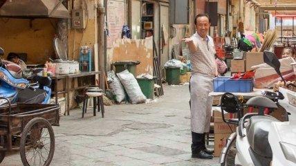 Необычная прогулка по типичному китайскому рынку (Фото)
