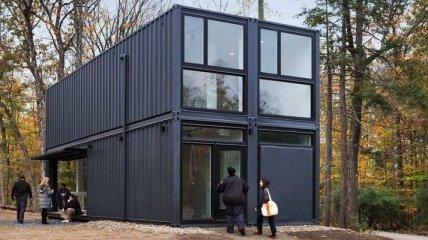 Дом из морских контейнеров, который можно построить самому (Фото)