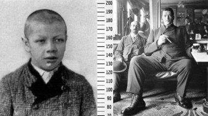 Карлик и великан: история Адама Райнера - человека, чей рост был 2,34 м (Фото)