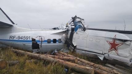 Место крушения самолёта L-410
