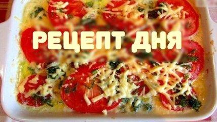 Рецепт дня: Запеканка из курицы с кабачками и помидорами
