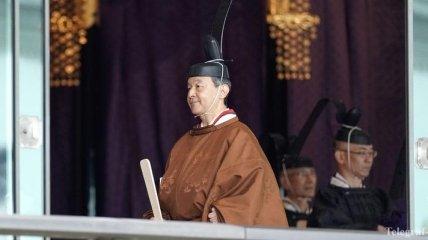Как император Японии Нарухито вступил на престол (полное видео)