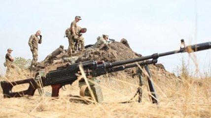 Штаб: Боевики обстреляли военных возле Авдеевки