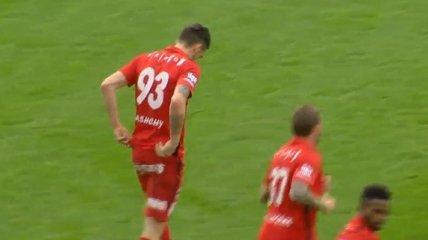 Украинец забил гол-шедевр в Чехии (Видео)