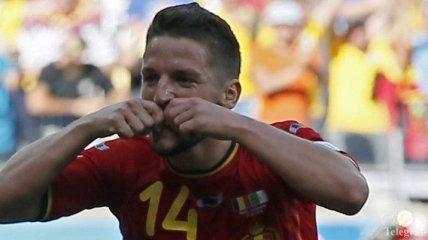 Бельгия - Алжир: автор победного гола сбрил усы своему отцу