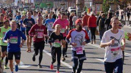 В Киеве состоялся престижный международный марафон