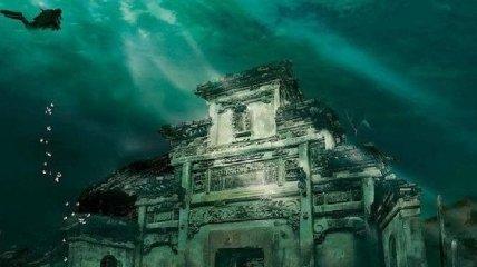 Морская красота: подводные древние города (Фото)