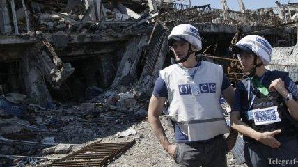 Наблюдатели ОБСЕ сегодня пытались попасть в Горловку