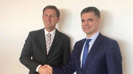 Главы МИД Украины и Словении обменяются визитами