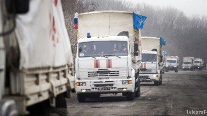 """27-й """"гумконвой"""" России вторгся на Донбасс"""