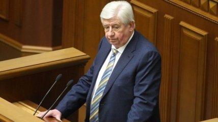 Президент ввел Шокина в состав СНБО