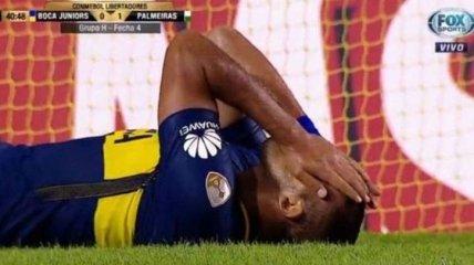 Промах года: аргентинский футболист не попал в пустые ворота с метра (Видео)