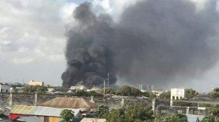 Пострадала военная база: В столице Сомали произошел мощный взрыв