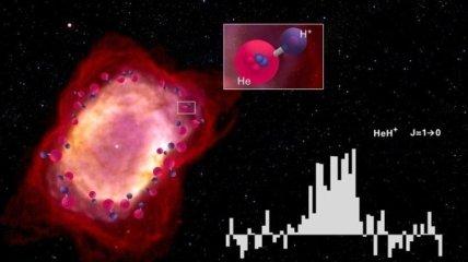 В Млечном Пути обнаружен гидрид гелия (Видео)