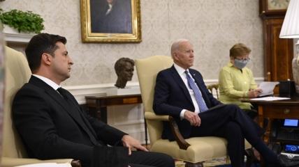 Встреча Зеленского и Байдена в Белом доме
