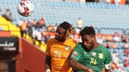 Кубок Африки: Кот-д'Ивуар обыграл ЮАР