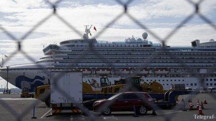Ситуация на лайнере Diamond Princess: заболевших коронавирусом стало больше