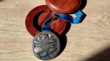 Преследуемая режимом Лукашенко легкоатлетка Тимановская выставила на продажу серебряную медаль (фото)