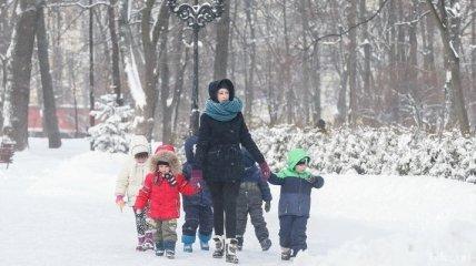 Погода на выходные: синоптики обещают снижение мороза и снег