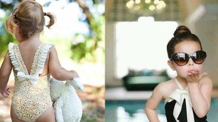 Стильно одевать нужно уметь с детства: маленькие модницы и модники (Фото)