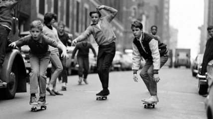 Нью-Йорк 60-х: начало популярности скейбординга (Фото)