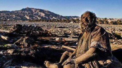 Мужчина не мылся последние 60 лет (Фото)