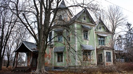 Заброшенная усадьба фон Мекка в Украине (Фото)