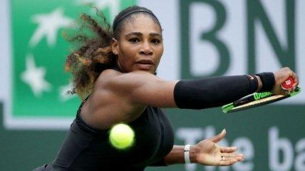 Серена Уильямс снялась с турнира в Риме