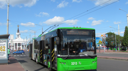 Троллейбус, который спровоцировал ЧП, был новым и исправным