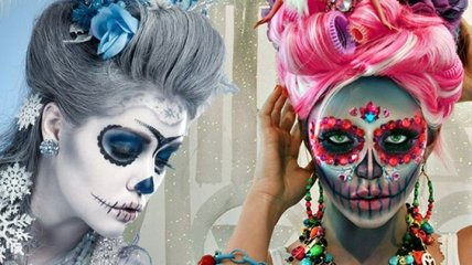 Мода 2019: ужасно красивые идеи макияжа на Хэллоуин (Фото)