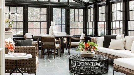 Идеи оформления стильных и красивых застекленных террас (Фото)