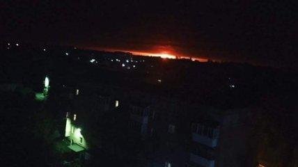 На Черниговщине горят склады: проводится эвакуация людей