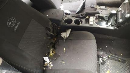 Следователи уверены, что взрывчатка находилась на переднем сидении в сумке