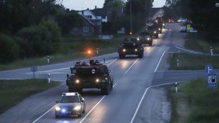 """Военные учения """"Железный волк"""" собрали войска НАТО в Литве"""