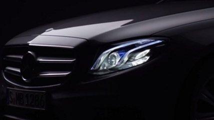 Mercedes продолжает рассекречивать новый E-Class