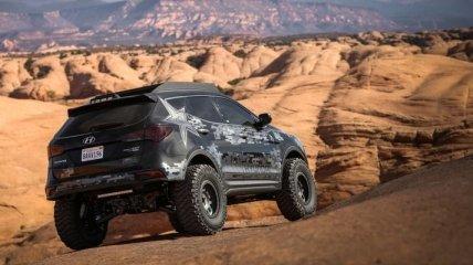 Hyundai Santa Fe получил чрезвычайно экстремальную версию